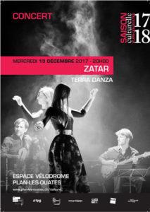 Affiche du Concert Zatar - Alba Lucera